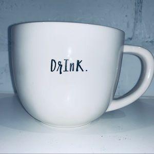 """Rae Dunn """"Drink."""" Mug, Artesian Collection"""